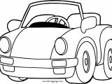 Does Car Coloring Page