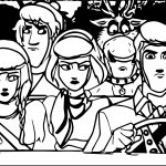 Frozen Image Frozen Scooby Doo Coloring Page
