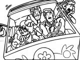 Gallery Comics Scooby Doo Tu Car Coloring Page