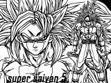 Goku Super Saiyan Coloring Page
