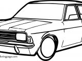 Home Car Coloring Page
