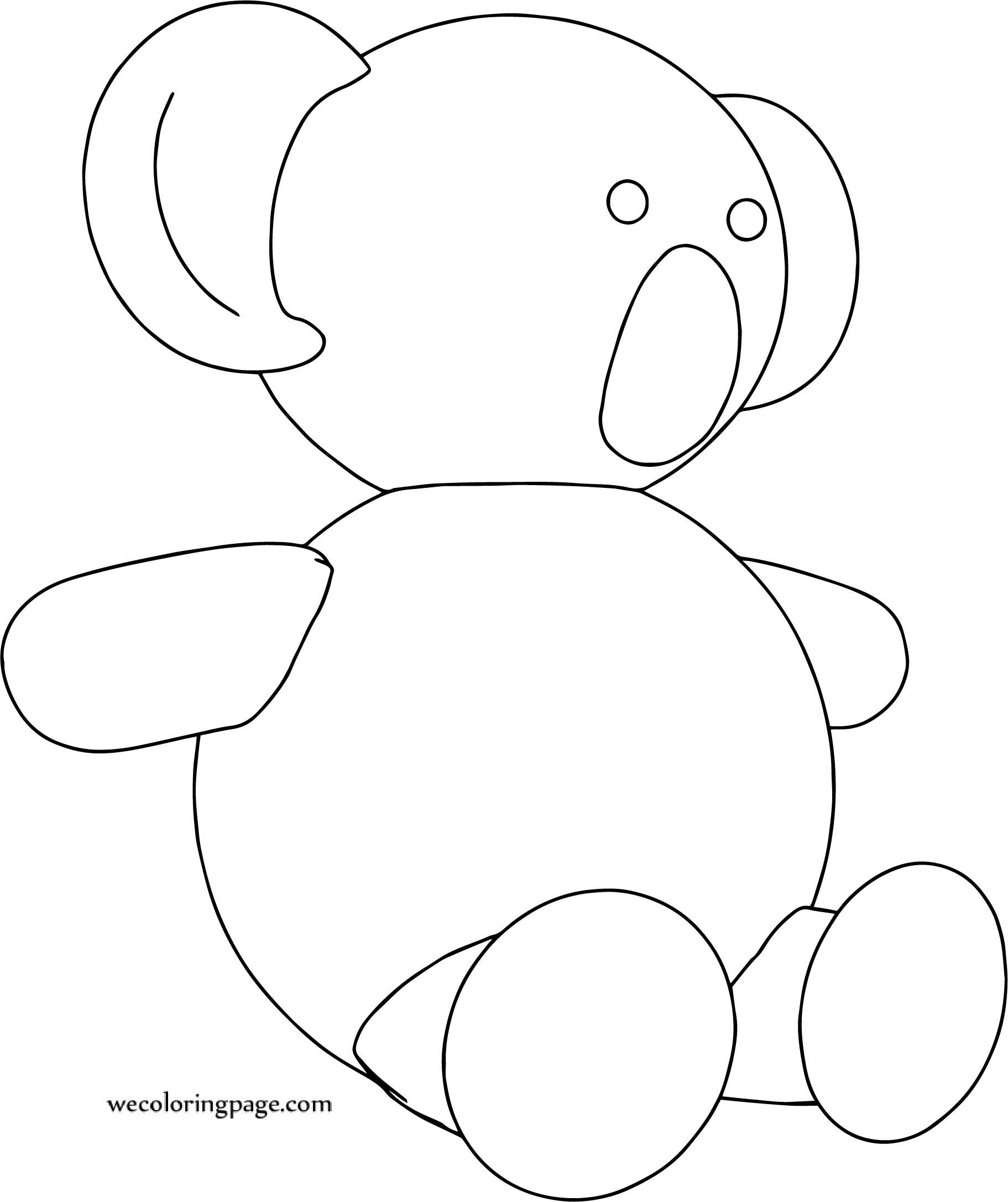 Koala Coloring Page Toy Sheets