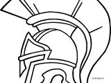 Mask Greece Coloring Page