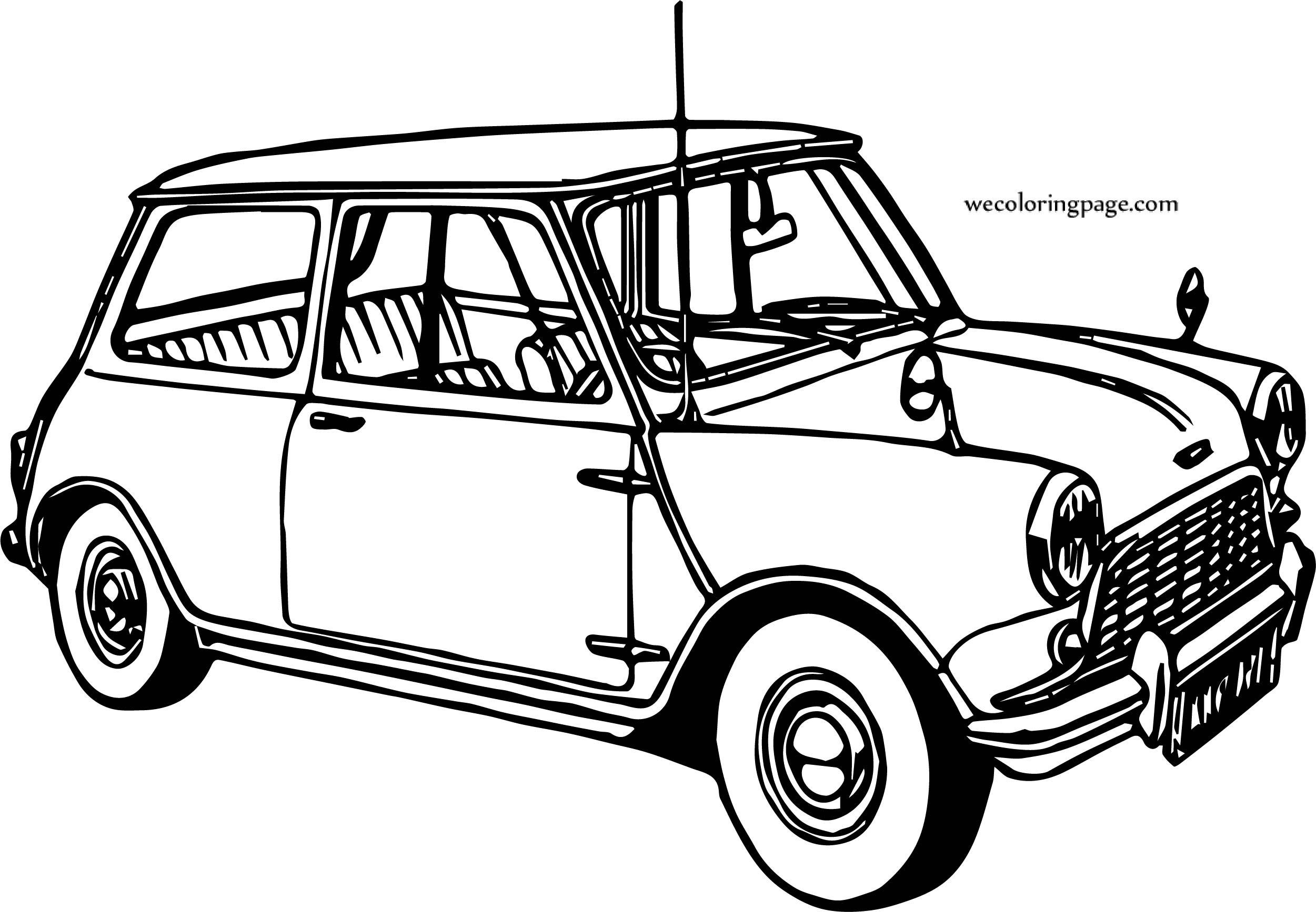 vintage car coloring pages - photo#32