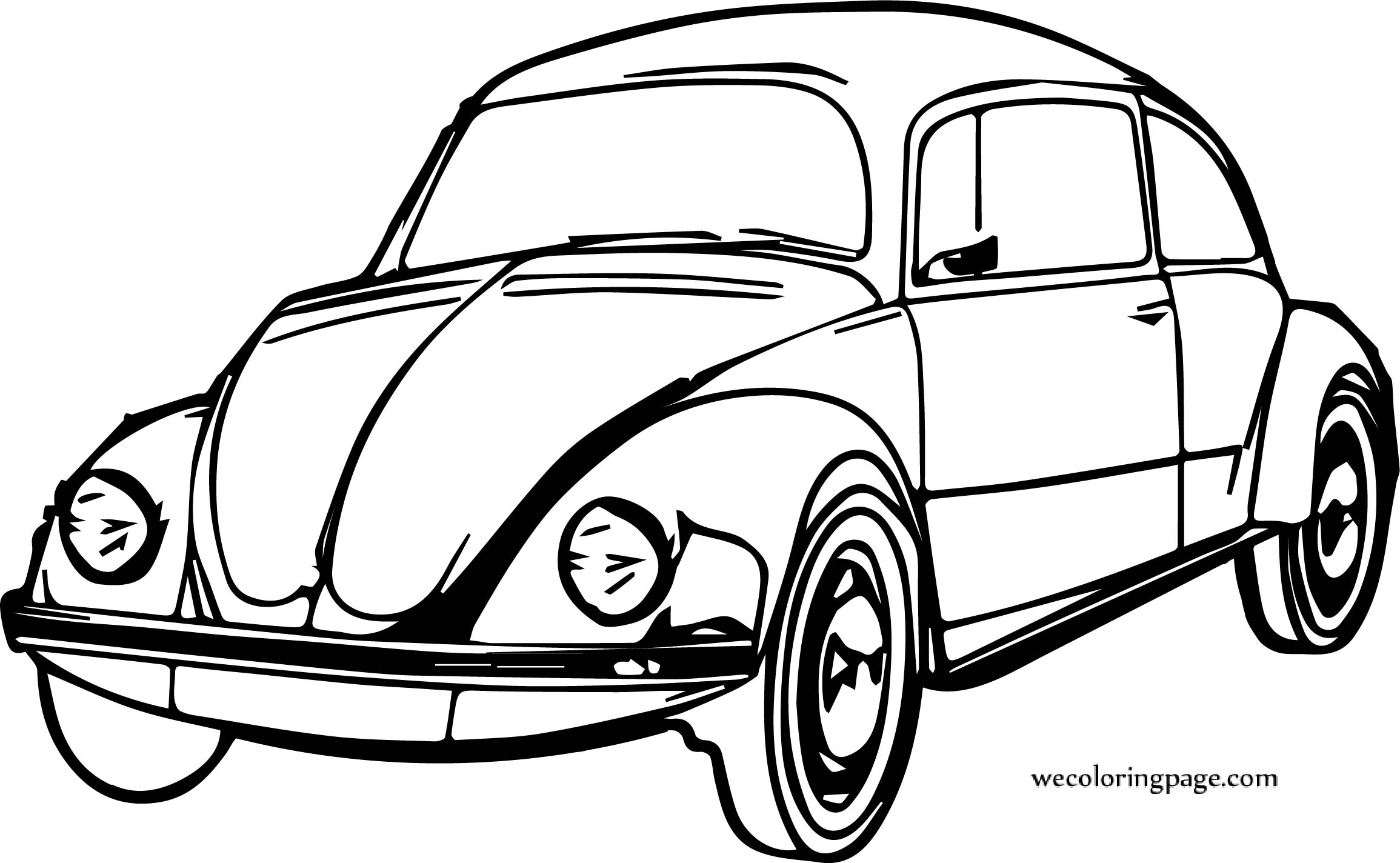 Out Car Coloring Page