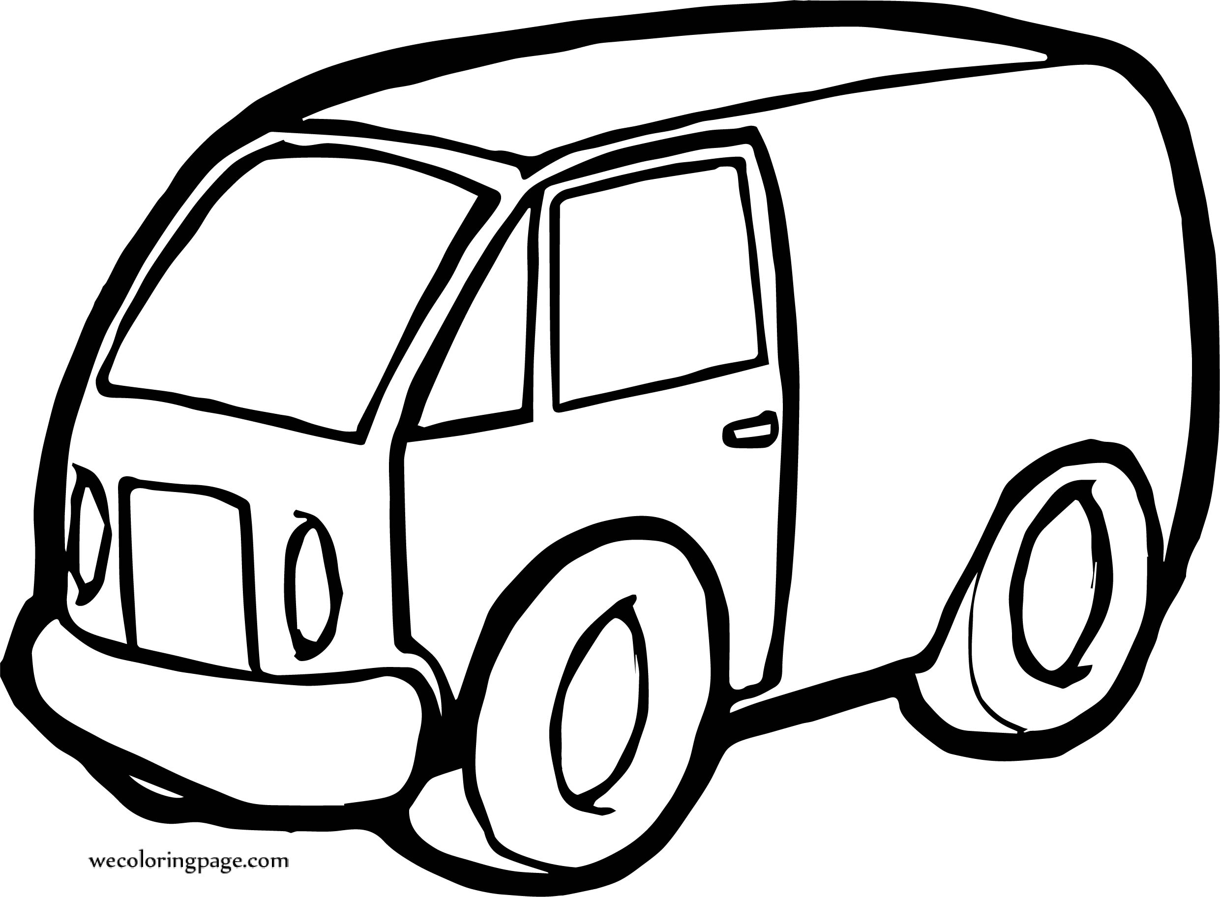 Play Car Coloring Page