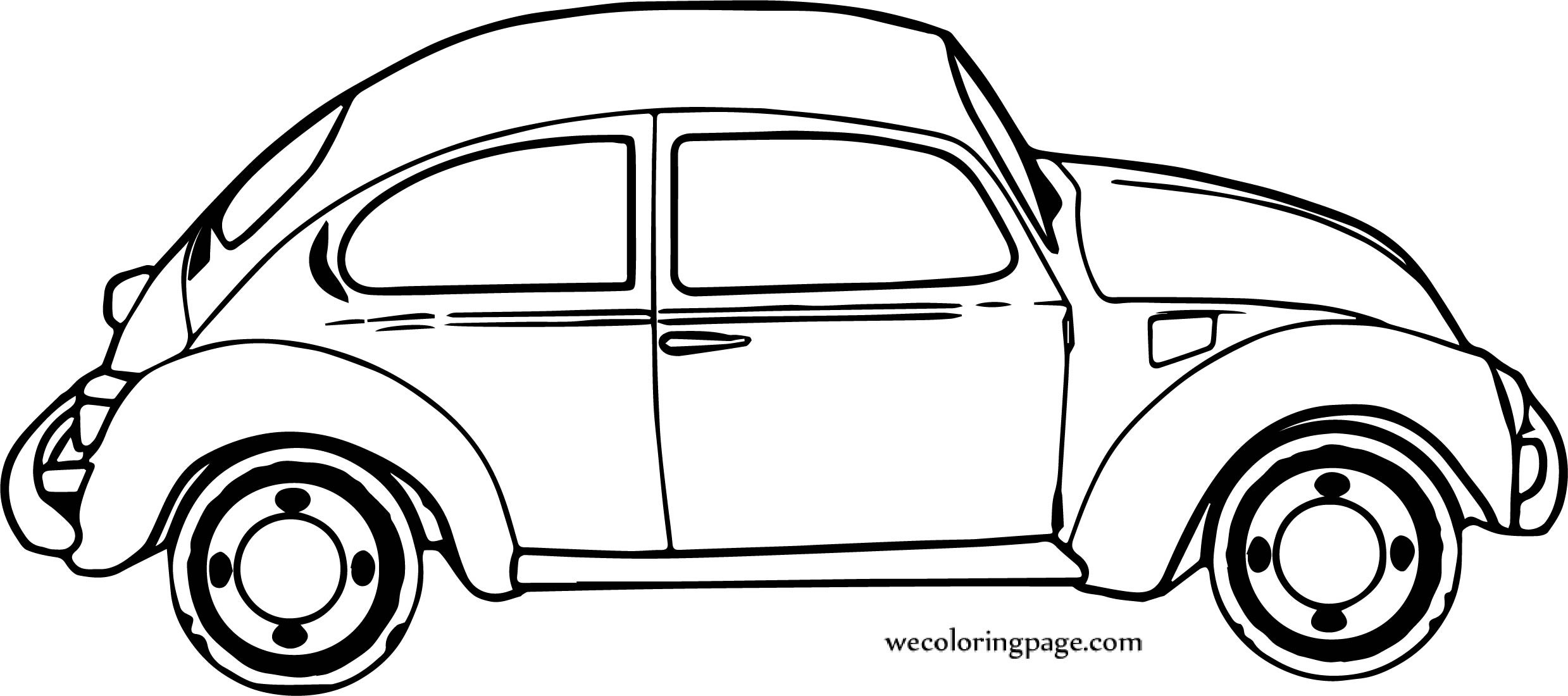 Port Car Coloring Page