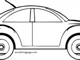 Put Car Coloring Page