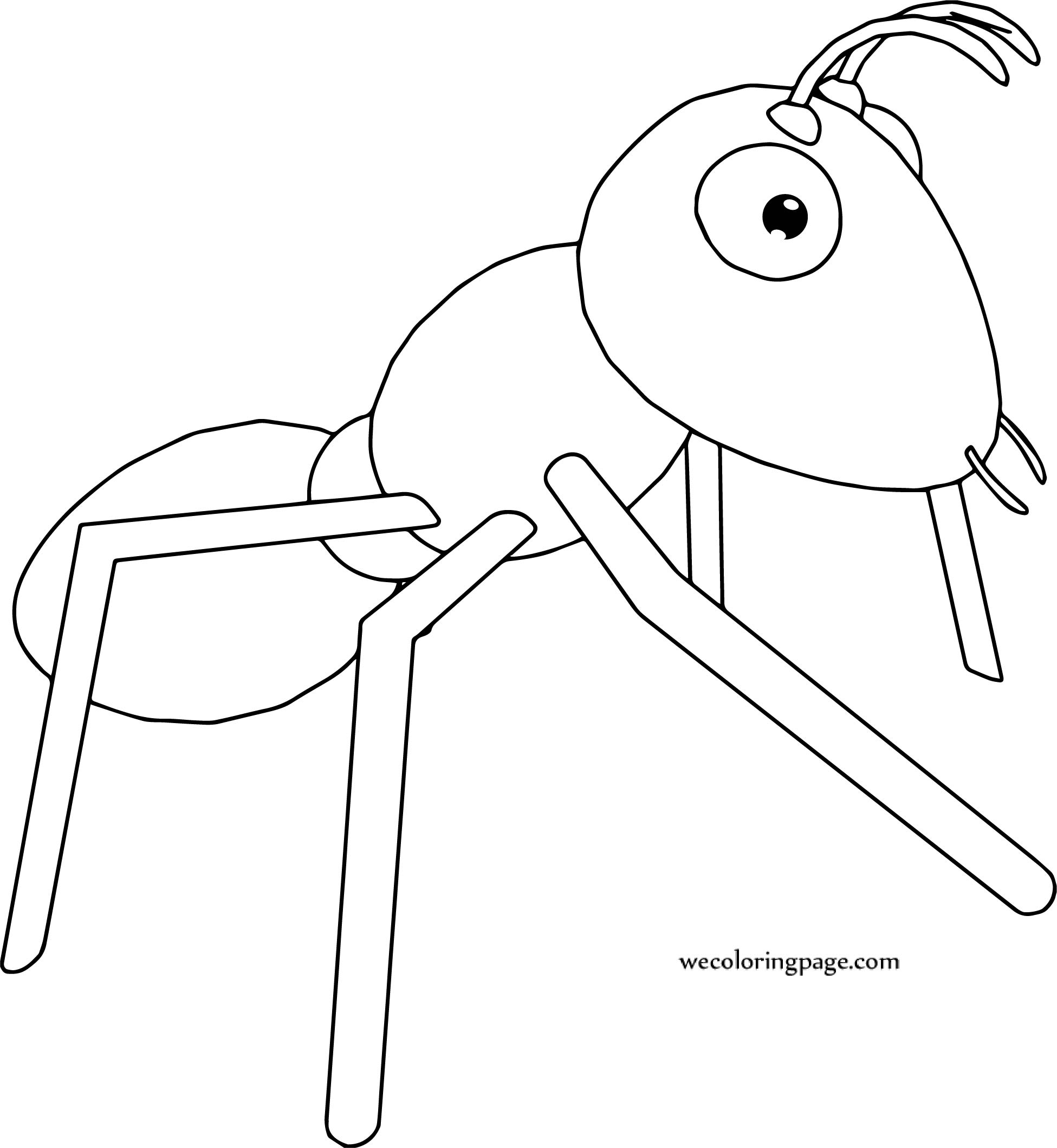 Realistic ant coloring page for Realistic pig coloring pages