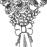 Rose Bucket Coloring Page