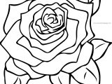 Rose Images Coloring Page