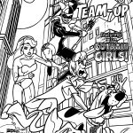Scooby Doo Team Up Print Coloring Page