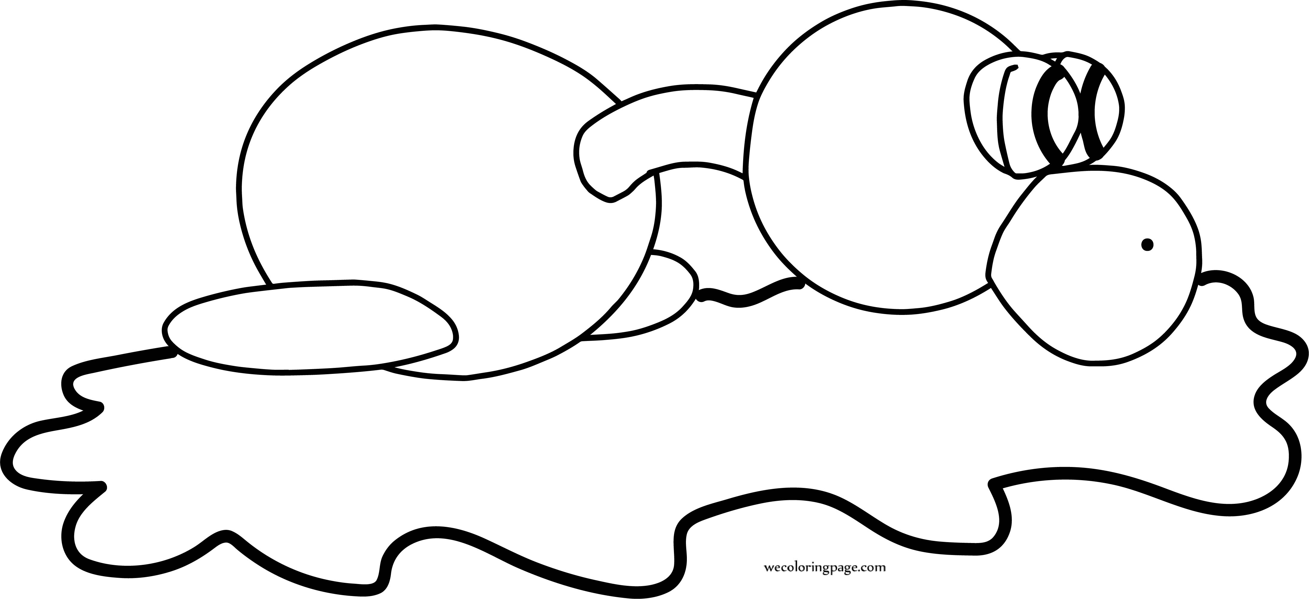 Seal Basic Toy Coloring Page