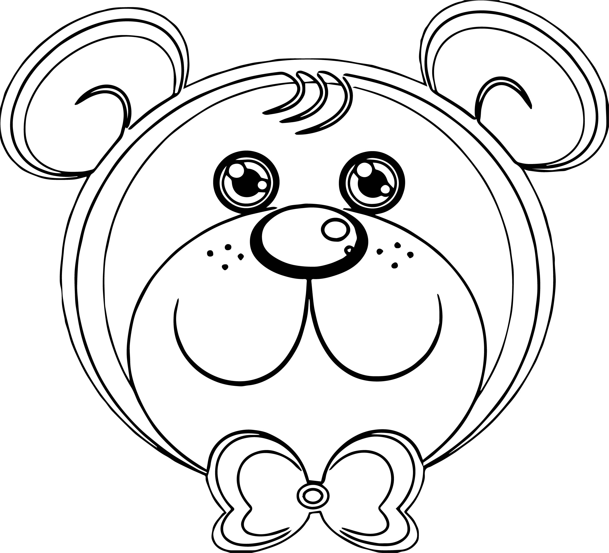She Bear Coloring Page