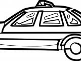 Side Basic A Car Coloring Page