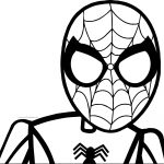 Spider Man Brush Stroke Coloring Page
