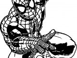 Spider Man Go Coloring Page