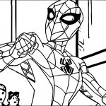 Spider Man New Body Coloring Page