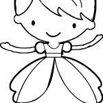 Style Princess Ballerina Coloring Page
