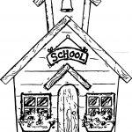 Summer School Coloring Page