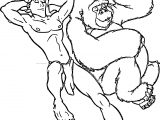 Tarzan And Trek Sleeping Coloring Page