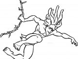 Tarzan Rope Down Coloring Page