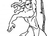 Tarzan Rope Fast Coloring Page
