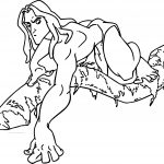Tarzan Tree What Is Coloring Page