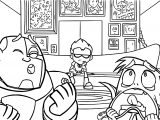 Teen Titans Go Robin Game Play Coloring Pages