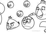 The Angry Birds And Other Birds Coloring Page
