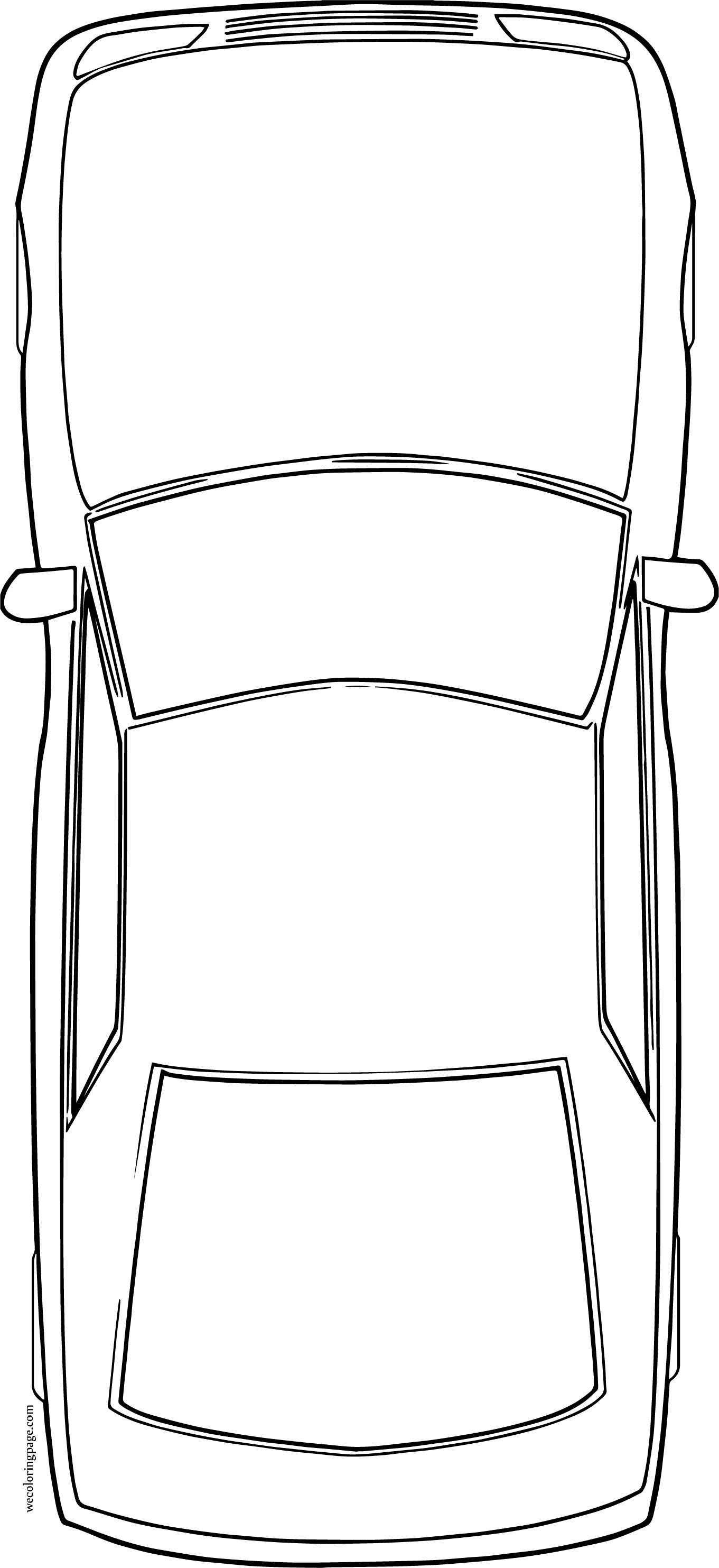 There Car Coloring Page