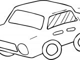 Too Car Coloring Page
