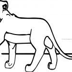 Walking Safarina Lion King Coloring Pages