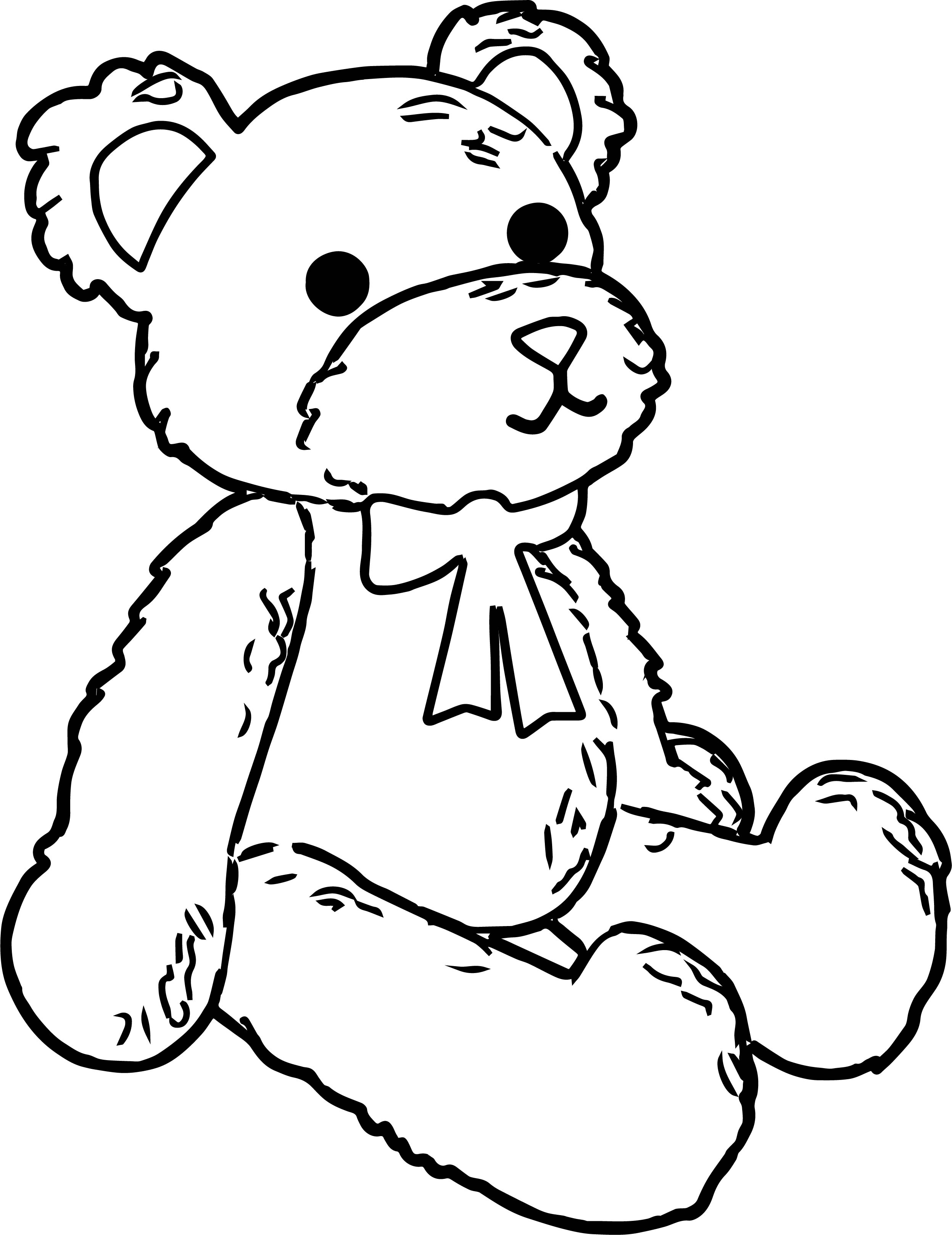 Was Bear Coloring Page