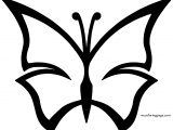 Wavelength Butterfly Coloring Page