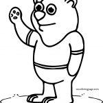 Way Bear Coloring Page