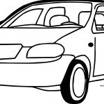 We Car Coloring Page