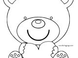 Well Bear Coloring Page