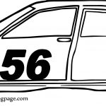 What Side Sport Car Coloring Page
