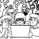 What This Question Scooby Doo Coloring Page