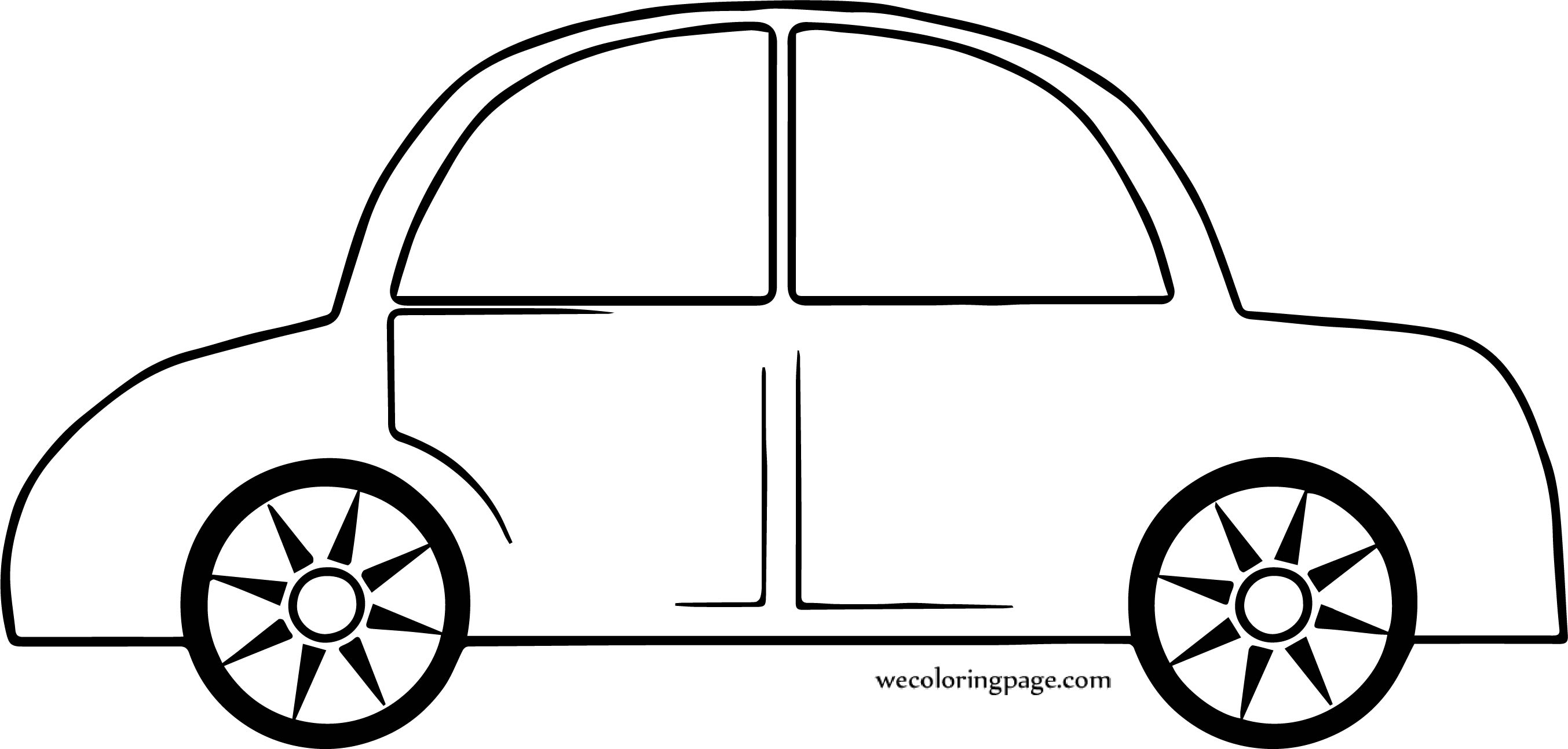 When Side Car Coloring Page