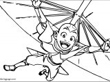 Aang Avatar The Last Airbender Avatar Aang Coloring Pages