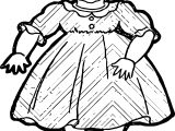Barbie Small Girl Dress Free Coloring Page