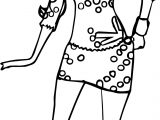 Barbie Teresa Coloring Page