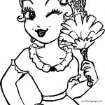 Betty Boop Housewife Coloring Page