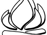 Camping Fire Coloring Pages