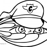 Captain Shell Coloring Page