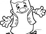 Cartoon Crayon Coloring Page