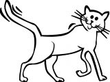 Cat Falter Coloring Page
