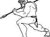 Character Tarzan Coloring Page
